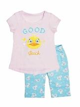 Пижама для девочек (фуфайка, бриджи)