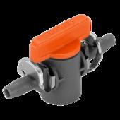 Кран для регулировки подачи воды в шланг Gardena (4,6 мм, 2 шт)