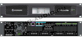 Crown DCi8|600N усилитель 8-канальный с DSP и BLU Link. Мощность (на канал): 300Вт•2Ом, 600Вт•4/8Ом, 300В•16Ом, 600Вт•70/100В. Мощность (мост): 600Вт•4Ом, 1200Вт•8/16Ом, 1200Вт•140/200B.