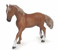 PAPO Коллекционная фигурка PAPO. Рыжая верховая лошадь.