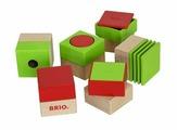 Кубики Brio 30436 6 шт.