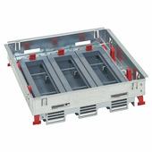 Суппорты для горизональной установки с регулировкой по высоте стандартное исполнение 16-24 модуля. Цвет Серый. Legrand (Легранд). 088022