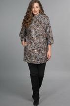 Пальто Lady Style Classic 925 серые тона