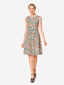 Электронная выкройка Burda - Платье с втачным поясом 6339 A