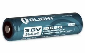 Аккумулятор Li-ion Olight «ORB-186P34» 18650 3,7 В. 3400 mAh,