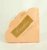 Салфетки бумажные Aster Creative round Персиковые, 3-слойные, 12 шт