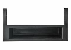 Переходная рамка для установки магнитолы Intro RTY-N50 - Переходная рамка Toyota (1-DIN боковые вставки и карман)