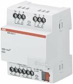 Интеллектуальные инсталляционные системы EIB/KNX ABB IO/S4.6.1.1 Модуль входа/выхода, 4-канальный ABB, 2CDG110168R0011