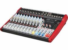 B&G M210 Пульт микшерный, 8 моно, 2 стерео, USB/SD MP3 плеер, процессор эффектов, 7 полосный эквалай