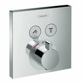 Панель скрытого смесителя Hansgrohe Select 15763000, термостат