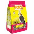 Корм RIO Parakeets для средних попугаев в период линьки, 500г