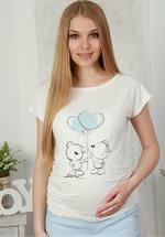 Для беременных Lucky Mum 105 светло голубой