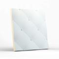Стеновая гипсовая 3D панель – Кожа крупная, 500х500mm