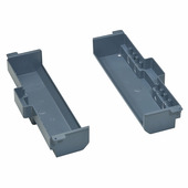 Изоляционная коробка для монтажа напольной коробки в фальшпол стандартное исполнение 2X8 модулей. Цвет Серый. Legrand (Легранд). 088028