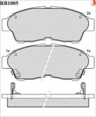 Дисковые Тормозные Колодки R Brake R BRAKE арт. RB1005