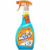 Средство для мытья стекол мистер мускул с нашатырным спиртом, 500мл, с курком SC Johnson 636808
