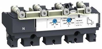 431450 TM250D Термомагнитный расцепитель 4-полюсный 250А для NSX250 Schneider Electric, LV431450