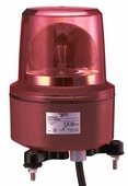 Вращающийся сигнальный маячок, 130мм, (красный), IP67 Schneider Electric, XVR13M04L