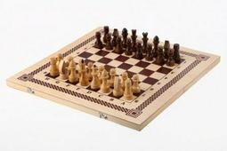 Игра три в одном (шахматы, шашки, нарды) (Орлов) В-7 Орловская ладья