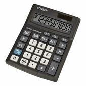 Калькулятор настольный 10 разр., 100х136х32мм, черный (Citizen)