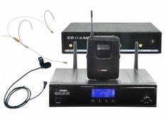 VOLTA DIGITAL 1001H PRO Микрофонная цифровая радиосистема с карманным передатчиком и головным микроф