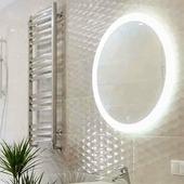 Зеркало Континент Rinaldi LED (77х77)