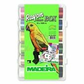 Набор ниток Madeira RAYON №40 (18х1000м.) 8043