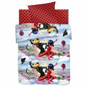 Детское постельное белье LadyBug Леди Баг и Супер Кот, ОТК 1,5 спальное с 1 наволочкой 70x70