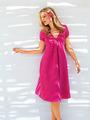 Электронная выкройка Burda - Платье с фигурной планкой горловины №3