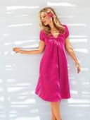 Электронная выкройка Burda - Платье с фигурной планкой горловины 3