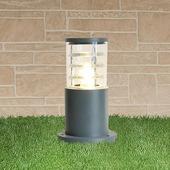 Уличный наземный светильник 1508 1508 TECHNO серый