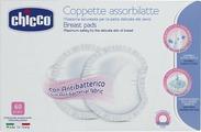 Chicco Прокладки впитывающие для груди антибактериальные 60 шт