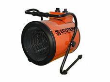 Нагреватель воздуха электрический Ecoterm EHR-09/3B, пушка, 9 кВт., 380В