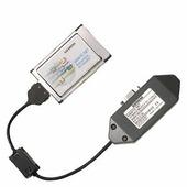 PB, CP 5512 PC-карта (CARDBUS, 32 Бита) для подключения PG (программатора) или ноутбука к сети PROFIBUS ИЛИ MPI Siemens, 6GK15512AA00