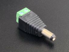 """DC Коннектор """"папа"""" с клеммным подключением к проводам"""