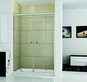 Стеклянная душевая дверь RGW CL-10 140 см