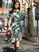 Электронная выкройка Burda - Платье с рукавами-крылышками 122 A