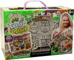"""Набор для творчества Danko Toys """"My Color Case. Косметичка-раскраска Мульт 2. Совы"""""""