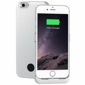 Чехол-аккумулятор 3000мАч Li-Pol для iPhone7/8 Silver