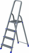 Лестница-стремянка Новая высота NV 111 алюминиевая 4 ступени (1110104)
