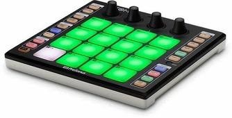 PreSonus ATOM USB-контролер для управления виртуальными инструментами, 16 PAD с посленажатием,4 энкодера, 20 назначаемых кнопок, 8 банков, Note Repeat