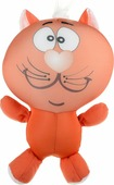 Игрушка антистресс Котя оранжевый
