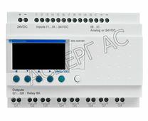 Интеллектуальное реле c дисплеем 12 входов/8выходов, 24В DC Schneider Electric, SR2A201BD