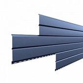 Сайдинг наружный металлический МеталлПрофиль Lбрус Galmei Сиреневый металлик 4м (Purman, 0,5мм, глянец.)