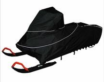 """Чехол транспортировочный """"AG-brand"""" для снегохода Ski-Doo Summit 154, цвет: черный, желтый"""