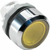 MP1-21Y Кнопка желтая с подсветкой без фиксации ( только корпус ) ABB, 1SFA611100R2103