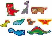 Пазл PlayGo Динозавры 9 шт.