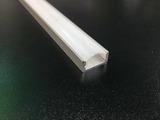 Алюминиевый профиль накладной для светодиодной ленты 16*7мм