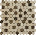 Мозаика Muare Мозаика QS-Hex027-25P/10