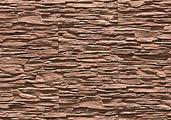 Декоративный искусственный камень Феодал Выветренный сланец угловой литой 14.28 Темный каштан